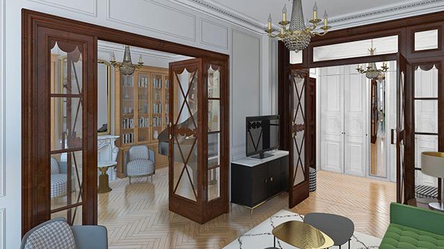 Квартира на набережной, The Doors